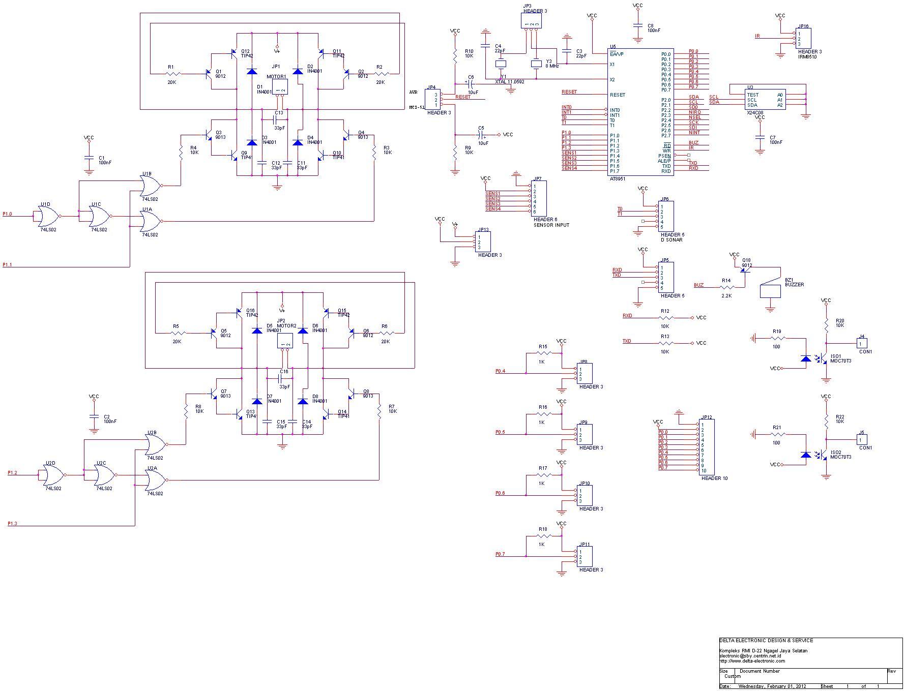 An0181 membangun rangkaian elektronik robot beroda delta skema mikrokontroler dan driver motor robot ccuart Image collections