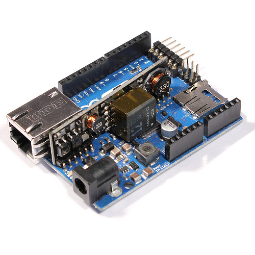 Arduino Ethernet with Power Over Ethernet