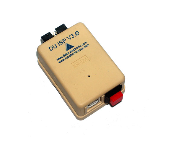 DU ISP V3.0 Delta USB ISP Programmer (High Speed Version) + Case